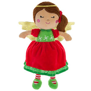 Stephen Joseph Christmas Wings Dolls, Angel, No Size