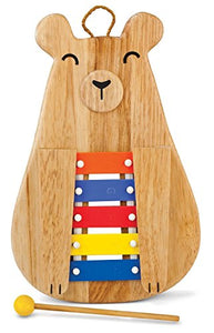 "13"", Wooden Papa Bear Glockenspiel, Carries Five Precision Tuned Bars"