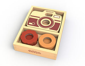 Shutterbug Camera by BeginAgain – Enable your Child's Imagination with this Eco-friendly Toy Camera