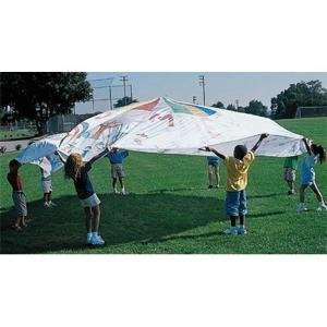 6' Color-Me Playchutes Parachute