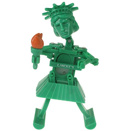 Statue Of Liberty Dancing Wind Up Toy - Lady Liberty Dances When Wound Up - Ages 3+