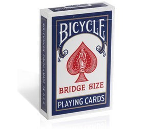 Bicycle Bridge Size, Standard Index Playing Cards - 2 Decks by Bicycle