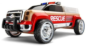 Automoblox T900 Rescue Truck, Red/Chrome by Automoblox