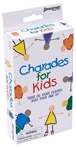 Pressman Toys Charades for Kids Peggable Game (3 Player)