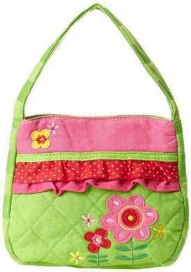 Stephen Joseph Little Girls' Quilted Purse, Flower, One Size Size: One Size Color: Flower, Model: , Toys & Play