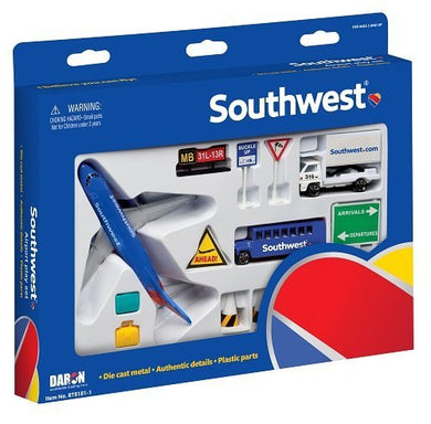 Daron Southwest Airlines Airport Playset (1 Pack) by Daron