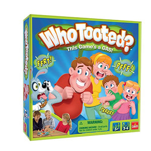 "Who Tooted? ""The, um, Fart"" Board Game for The Whole Family"