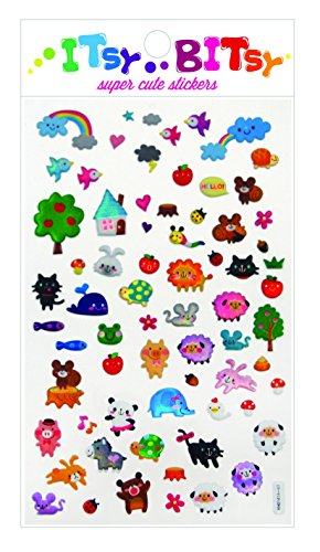 Animal Town Stickers by Itsy Bitsy