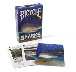 Bicycle Shark Playing Cards by Bicycle