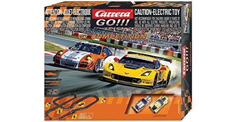 Carrera GO!!! - GT Competition Slot Car Set (1:43 Scale)