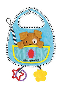 Amazing Baby Dog Activity Bib