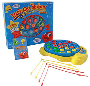Pressman 0058-06 Games Toy Lets Go Fishing Combo Game, Includes Go Fish Card (Pack of 1)