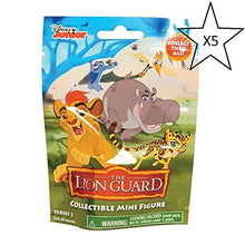 The Lion Guard Collectible Mini Figure Blind Bag Series 3 (Bundle of 5 Bags)