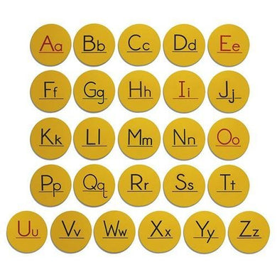 Alphabet Spot Set (set of 26)