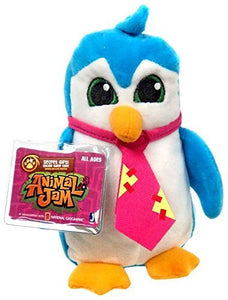 "6"" Animal Jam Blue Penguin Plush"