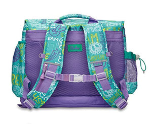 Bixbee Kids Designer Backpack, Teal, Large