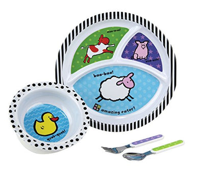 Amazing Baby Farm Melamine Set