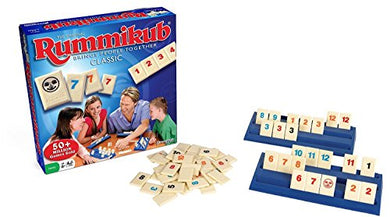 The Original Rummikub - Fast Moving Rummy Tile Game by PRESSMAN TOY CORPORA by PRESSMAN TOY CORPORA