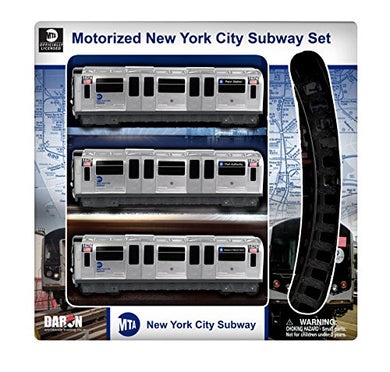 Daron MTA Motorized NYC Subway Train Set with Track