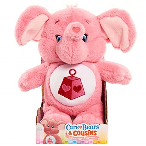 Just Play Care Bear Lotsa Heart Elephant Plush, Medium by Just Play