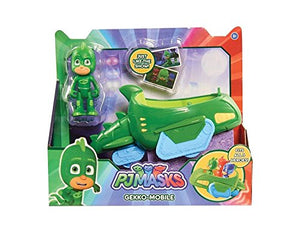 NEW! PJ Masks GEKKO-MOBILE - Just Like The Show - Fits All 3 Heroes!
