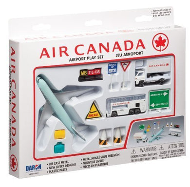 Daron Air Canada Airport Playset, 12-Piece by Daron