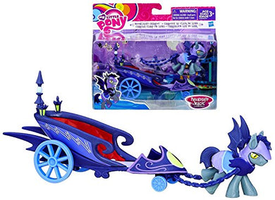 Nightmare Moon and Moonlight Chariot My Little Pony Playset