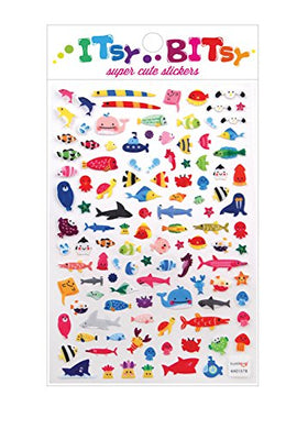 A Little Sea Life Stickers by Itsy Bitsy