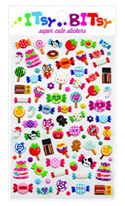 Candy Time Stickers by Itsy Bitsy