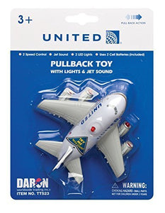 Daron Post Continental M United Pullback Toy with Light and Sound by Daron
