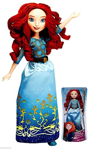 Disney Princess Royal Shimmer Brave Merida Doll 10.5