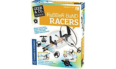 Geek & Co. Science Rubber Band Racers Kit by Geek & Co. Science!