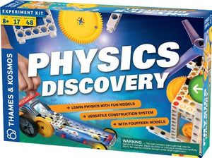 Physics Discovery Set, Build Bicycle, Transmission, Motion Picture Machine & More