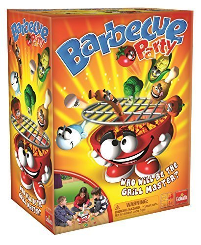 Action and reflex game - Barbecue Party by Goliath