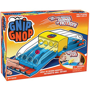 Classic Gnip Gnop Table Game - Button Bashing Rapid Action Fun For 2 Players
