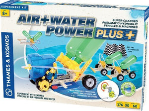 Thames and Kosmos Air+Water Power Plus Science Kit by Thames & Kosmos