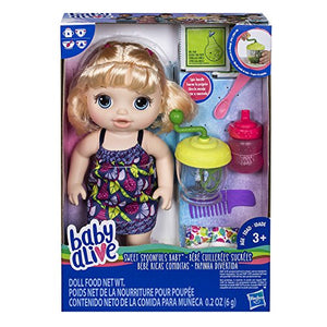 Baby Alive Sweet Spoonfuls Blonde Baby Doll Girl
