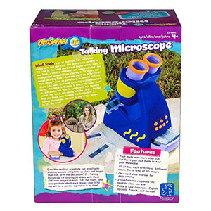Educational Insights GeoSafari Jr. Talking Microscope - Featuring Bindi Irwin - for Preschoolers!