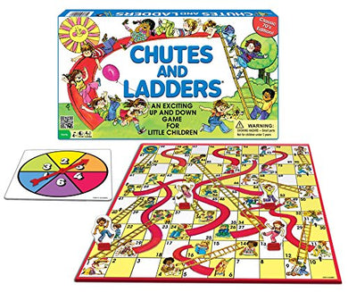 Classic Chutes and Ladders Board Game
