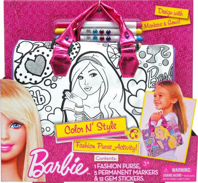 Tara Toy Barbie Color N Style Handbag