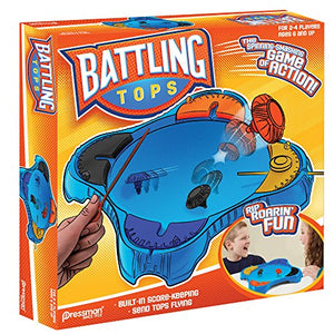 Pressman Toys Battling Tops Game (4 Player)
