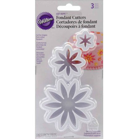 CUT OUT - FONDANT - DAISY