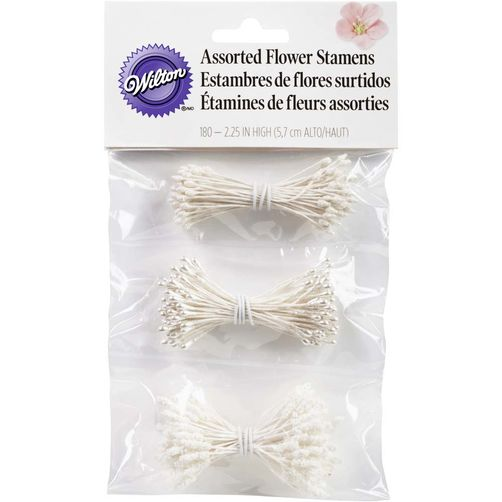 STAMENS - WHITE - ASSORTED