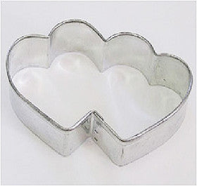 COOKIE CUTTER - VALENTINE - DOUBLE HEART