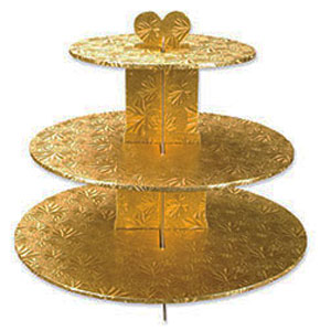 STAND - GOLD - 3 TIER