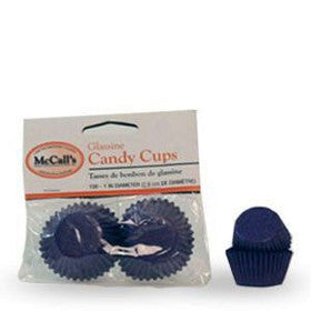CANDY CUPS - GLASSINE - MINI - PURPLE