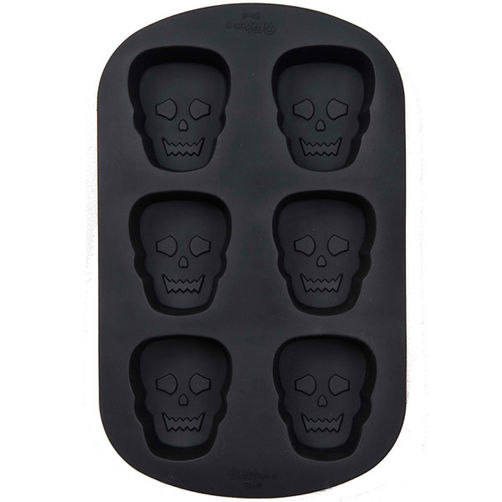 PAN - SILICONE - MINI SKULLS