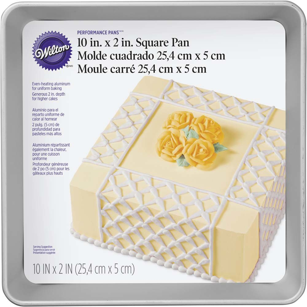 PAN - SQUARE 10 INCH