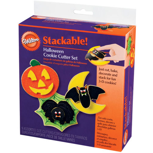 COOKIE CUTTER - HALLOWEEN -  HALLOWEEN - STACKABLE