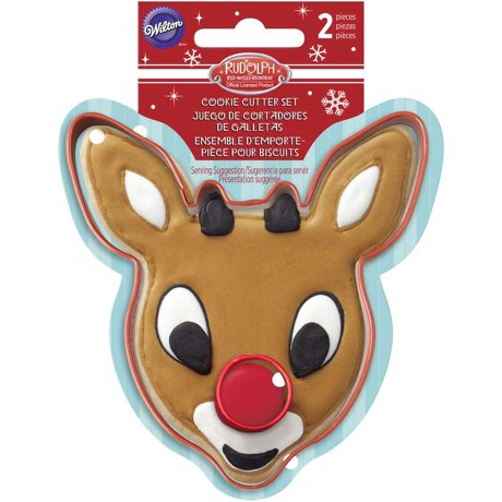 COOKIE CUTTER - CHRISTMAS - RUDOLPH